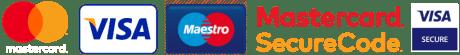 Λογότυπα τρόπων ηλεκτρονικής πληρωμής